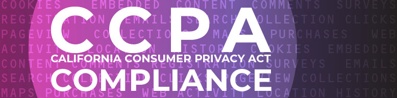 CCPA compliance section header